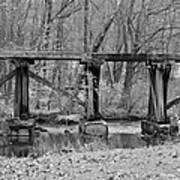 Abandoned Bridge Art Print