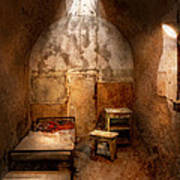Abandoned - Eastern State Penitentiary - Life Sentence Art Print by Mike Savad