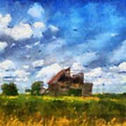 Abandoned Farm 03 Photo Art Art Print