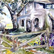 Abandoned Farm  Nossentin Art Print