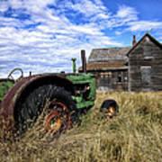Abandoned Farm Saskatchewan Canada Art Print