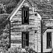Abandoned Farmhouse - Alstown - Washington - May 2013 Art Print