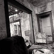 Abandoned Homestead Series Decay 2 Art Print