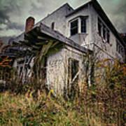 Abandoned Hotel Hdr Art Print