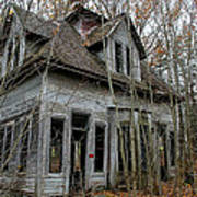Abandoned House In New Hampshire Art Print