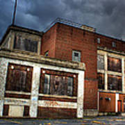 Abandoned In Hdr Art Print