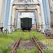 Abandoned Industrial Dock Art Print