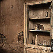 Abandoned Kitchen Cabinet B Art Print