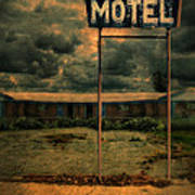 Abandoned Motel Art Print