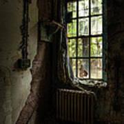 Abandoned - Old Room - Draped Art Print