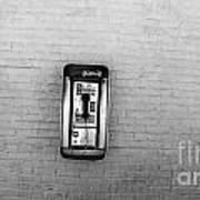 Abandoned Payphone. Nyc. Art Print