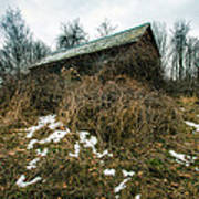 Abandoned Places - Old House - House On The Hill Art Print