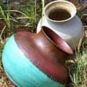 Abandoned Pots Art Print
