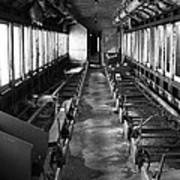 Abandoned Railcar Art Print