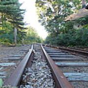 Abandoned Railroad 1 Art Print