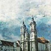 Abbey Of St Gall Art Print