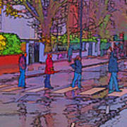 Abbey Road Crossing Art Print