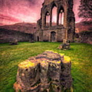 Abbey Ruin Art Print