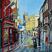 Abbey Street Ennis Co Clare Ireland Art Print