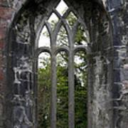 Abbey Window  Art Print