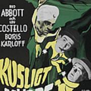 Abbott And Costello Meet The Killer Art Print