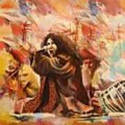 Abida Parveen Art Print