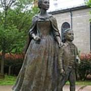 Abigail Adams Statue Art Print