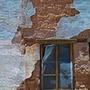 Abobe House Windows Art Print