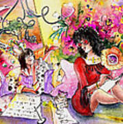 About Women And Girls 16 Art Print