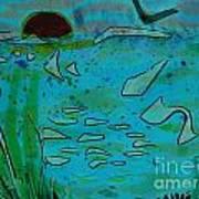 Above And Beneath The Sea Art Print