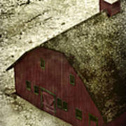 Above The Barn Art Print
