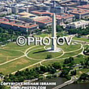 Above The Washington Monument -  Limited Edition Art Print