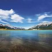 Abraham Lake Alberta Canada Art Print