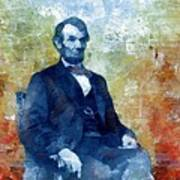 Abraham Lincoln 16th President Of The U.s.a. Art Print