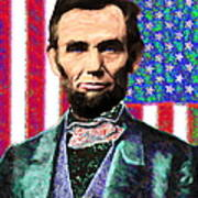 Abraham Lincoln 20130115 Art Print by Wingsdomain Art and Photography
