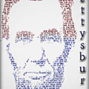 Abraham Lincoln  Art Print by Gary Keesler