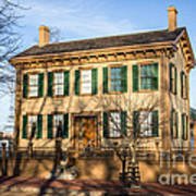Abraham Lincoln Home In Springfield Illinois Art Print