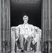 Abraham Lincoln Memorial Art Print