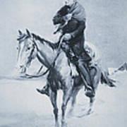 Abraham Lincoln Riding His Judicial Circuit Art Print