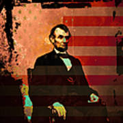Abraham Lincoln Art Print by Wingsdomain Art and Photography