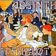 Absinthe Berthelot Art Print