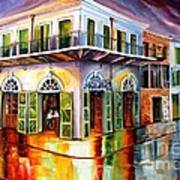 Absinthe House New Orleans Art Print by Diane Millsap