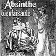 Absinthe Poster, 1892 Art Print