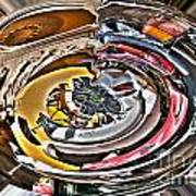 Abstract - Vehicle Recycling Art Print