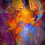 Abstract 0373 - Marucii Art Print