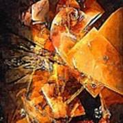 Abstract 0549 - Marucii Art Print