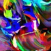 Abstract 082713d Art Print