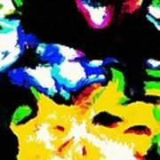 Abstract 103 Art Print