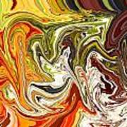 Abstract 127 Art Print by Carol Sullivan