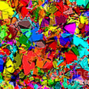 Astratto - Abstract 50 Art Print